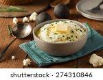 homemade organic mashed... | Shutterstock . vector #274310846
