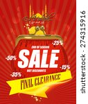 sale  discount and best offer... | Shutterstock .eps vector #274315916