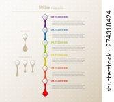timeline infographic | Shutterstock .eps vector #274318424