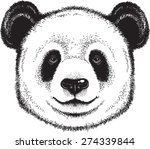 black and white vector sketch... | Shutterstock .eps vector #274339844