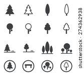 park icons | Shutterstock .eps vector #274362938