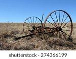 Old Rustic Farm Equipment Lies...
