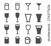 drink icon | Shutterstock .eps vector #274377626