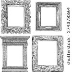 ancient frames | Shutterstock .eps vector #274378364