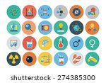 flat science and technology... | Shutterstock .eps vector #274385300