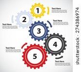 business concept   teamwork   5 ...   Shutterstock .eps vector #274386974