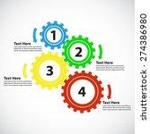 business concept   teamwork   4 ...   Shutterstock .eps vector #274386980