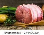 organic pork lion roast with...