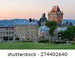 Quebec City Skyline With...