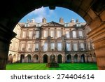palace of holyroodhouse in...   Shutterstock . vector #274404614