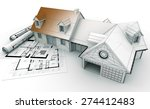 3d rendering of a house project ... | Shutterstock . vector #274412483