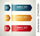 modern template design set  ... | Shutterstock .eps vector #274415204