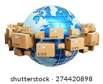 global logistics  shipping and... | Shutterstock . vector #274420898