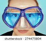 goggles for diving. idea ... | Shutterstock . vector #274475804