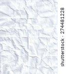 eight 8 fold crumpled paper | Shutterstock .eps vector #274481228