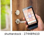 smart house  home automation ... | Shutterstock . vector #274489610