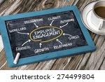 employee engagement concept... | Shutterstock . vector #274499804