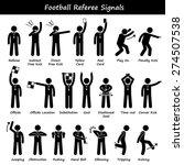 football soccer referees...   Shutterstock .eps vector #274507538