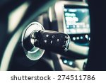 modern car ignition keys with... | Shutterstock . vector #274511786