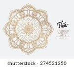 thai art element for design ... | Shutterstock .eps vector #274521350