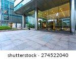 empty road in front of building ... | Shutterstock . vector #274522040