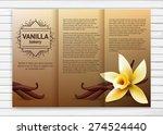 vector bakery flyer with...   Shutterstock .eps vector #274524440