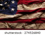old american flag background... | Shutterstock . vector #274526840