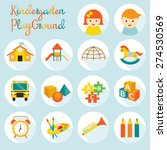 kindergarten  preschool ... | Shutterstock .eps vector #274530569