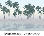 Vector Tropical Palm Tree...