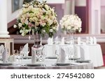Table Setting At A Luxury...