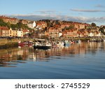 Harbour In Whitby England