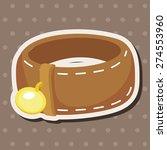 pet dog chains   cartoon... | Shutterstock . vector #274553960