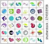 vector company logo templates   Shutterstock .eps vector #274555958