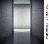 podium in interior with... | Shutterstock . vector #274557140