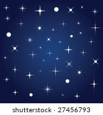 background with stars | Shutterstock .eps vector #27456793
