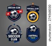 Set Of Logos  Emblems On The...