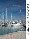 palma de mallorca  spain  ... | Shutterstock . vector #274568354