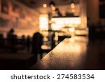 blur or defocus image of coffee ... | Shutterstock . vector #274583534