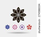 flower   Shutterstock .eps vector #274588334