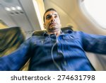 Airplane Passenger In Shock...