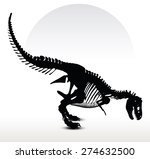 Vector Image   Dinosaurs T Rex...