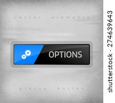 modern button options with...   Shutterstock .eps vector #274639643