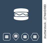 burger icon on flat ui colors...
