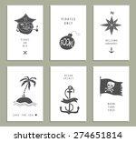 Set Of Six Creative Cards....
