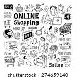 online shopping e commerce... | Shutterstock .eps vector #274659140