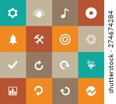 audio icons universal set for... | Shutterstock .eps vector #274674284