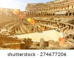 Inside The Old Colosseum ...