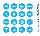 auto icons universal set for... | Shutterstock .eps vector #274680734