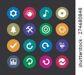 audio icons universal set for... | Shutterstock .eps vector #274680848