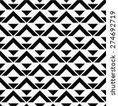 seamless vector background.... | Shutterstock .eps vector #274692719